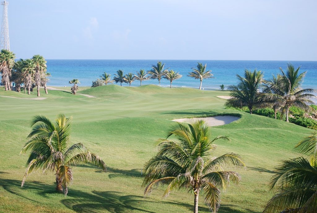 Karibik Jamaika Golfplatz