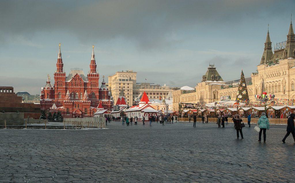 Sehenswürdigkeiten in Moskau