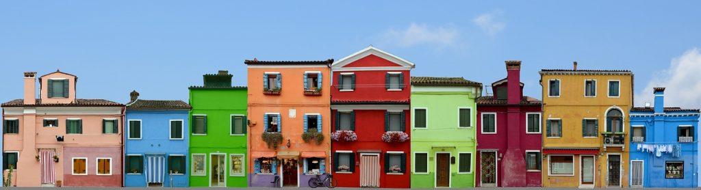 Venedig Bilder schöne Häuser