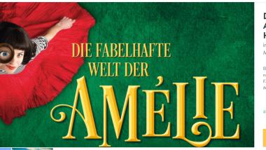 Screenshot Musical in München Die Fabelhafte Welt der Amelie ab 75,00€