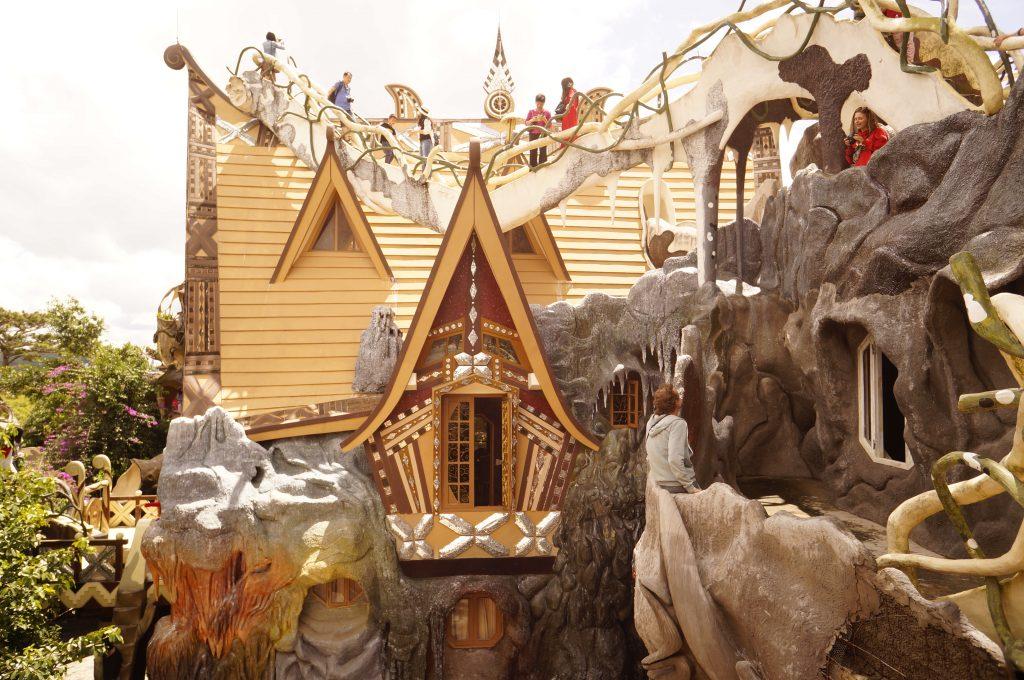 Verrückte Haus in Vietnam