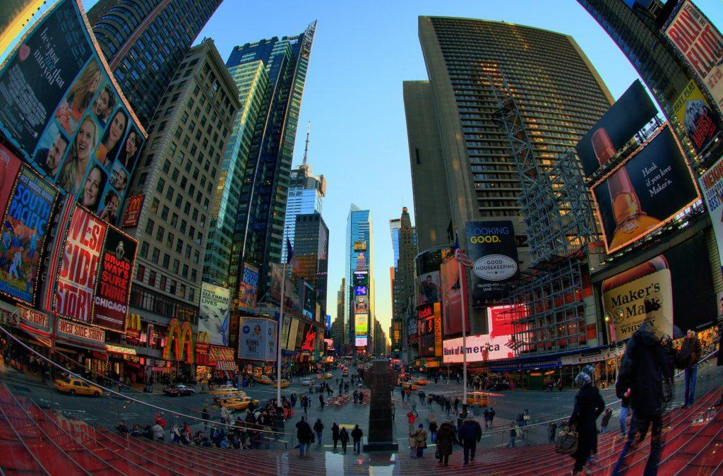 Flug nach New York City - Manhattan