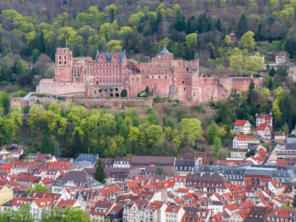 Aussicht vom Heidelberger Schloss