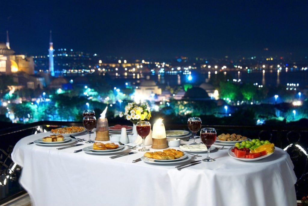 Istanbul interessante Orte Dinner