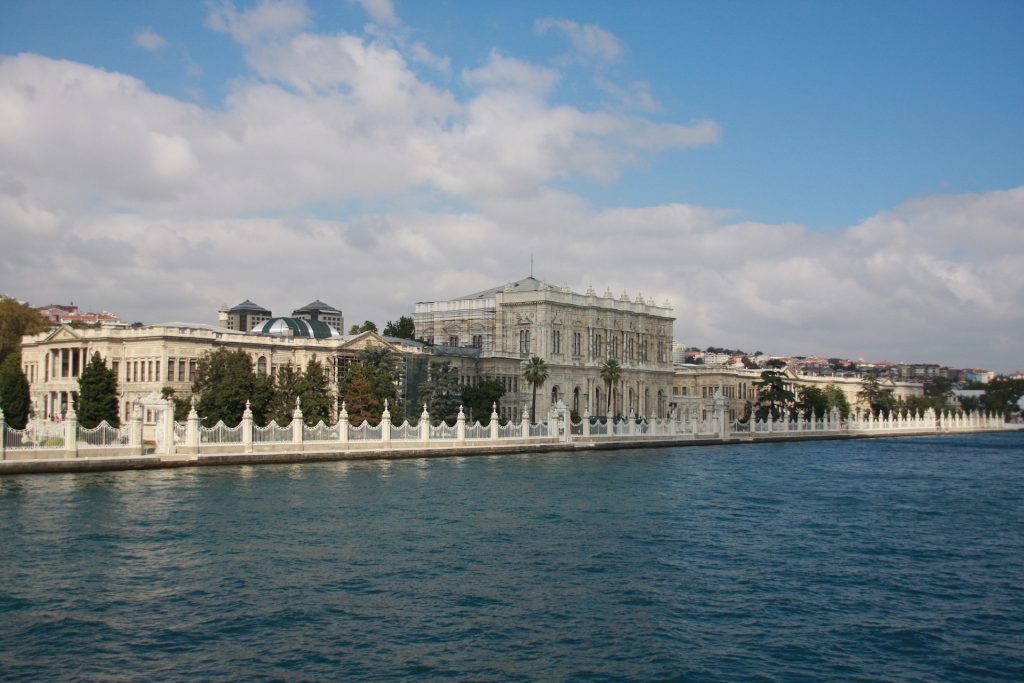 Istanbuls interessante Orte - Top 3 Orte in Istanbul entdecken Dolmabahce Palace