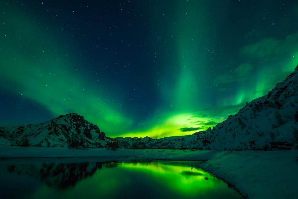 Nördliche Lichter - Polarlichter