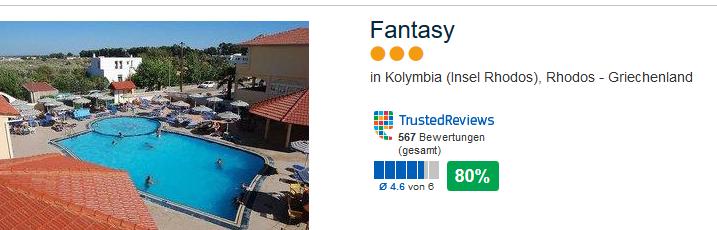 Fantasy Hotel Rhodos