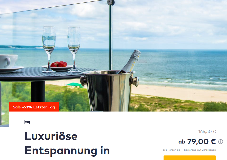 Radisson Blu Resort Świnoujście Swinemünde TravelBird