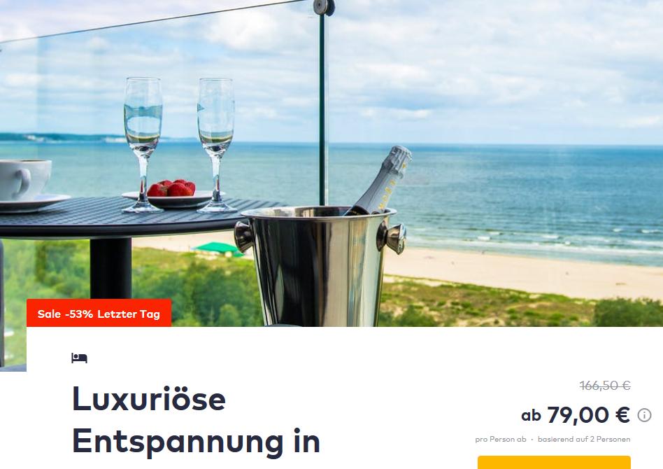 Radisson Blu Resort Świnoujście Swinemünde TravelBird