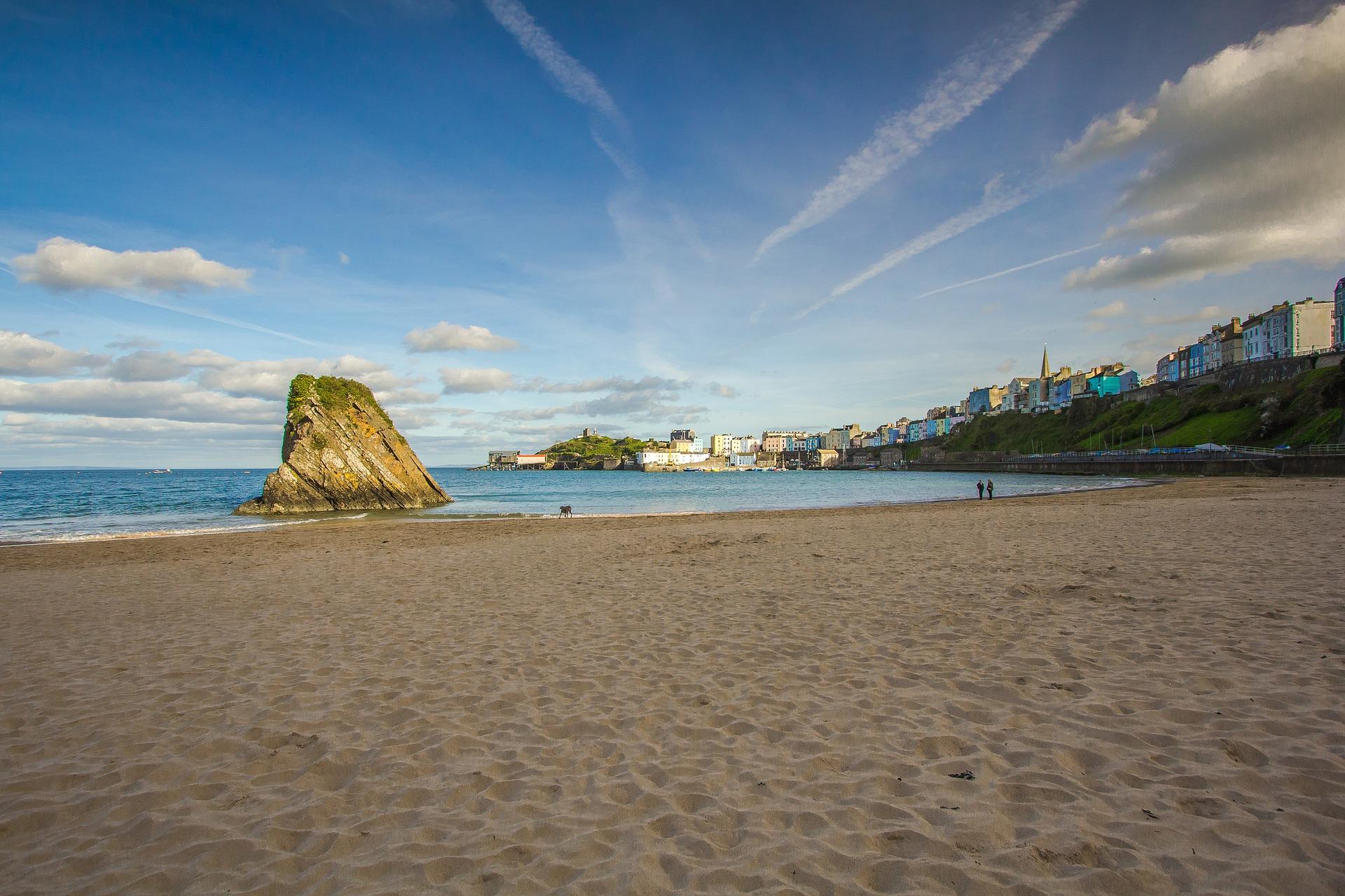 Reise nach Wales 3 Nächte inklusive Rugby Ticket Wales vs. Südafrika - Strand in Wales