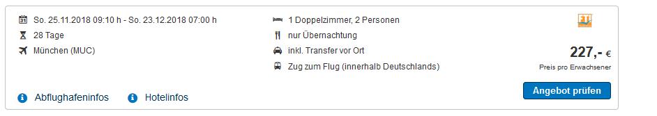 Screenshot Deal 4 Wochen Türkei Urlaub ab 227,00€ - günstig buchen bei wow-reisen.de