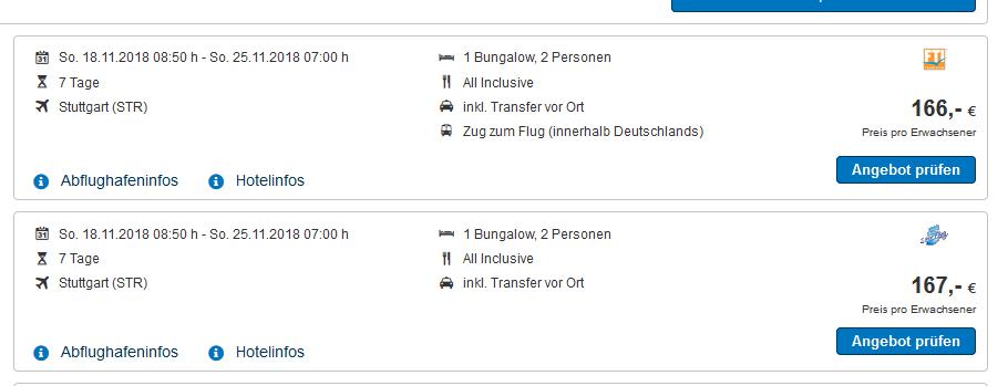 Screenshot Deal All Inclusive Türkei Urlaub - Labranda 5 Sterne ab 166,00€ eine Woche