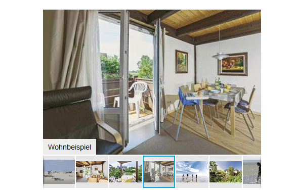 Screenshot Ferienwohnung Ferienwohnung in Pellworm ab 8,50 die Nacht - Nordfriesische Insel Ferienwohnung