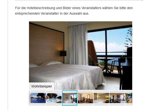 Screenshot Hotel Zimmer Madeira Reise - günstig nach Madeira reisen in den ewigen Frühling ab 139,00€