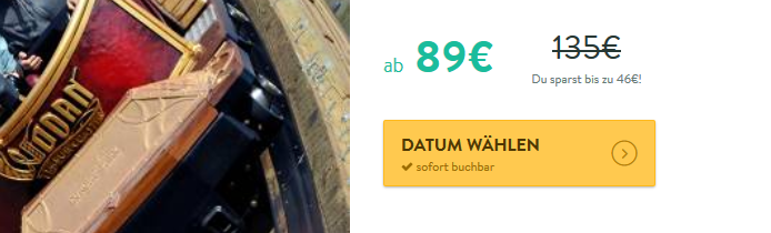 Screenshotdeal Europa Park Übernachtung günstig ab 89,00€ beliebteser Freizeitpark