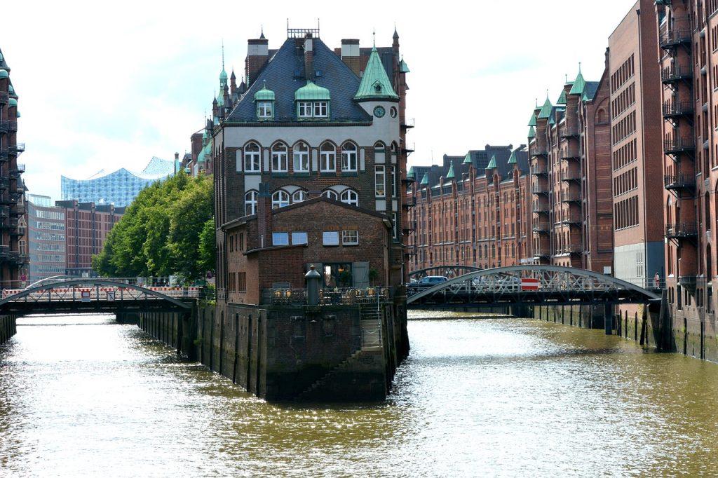 2 schönsten Brücken in Hamburg