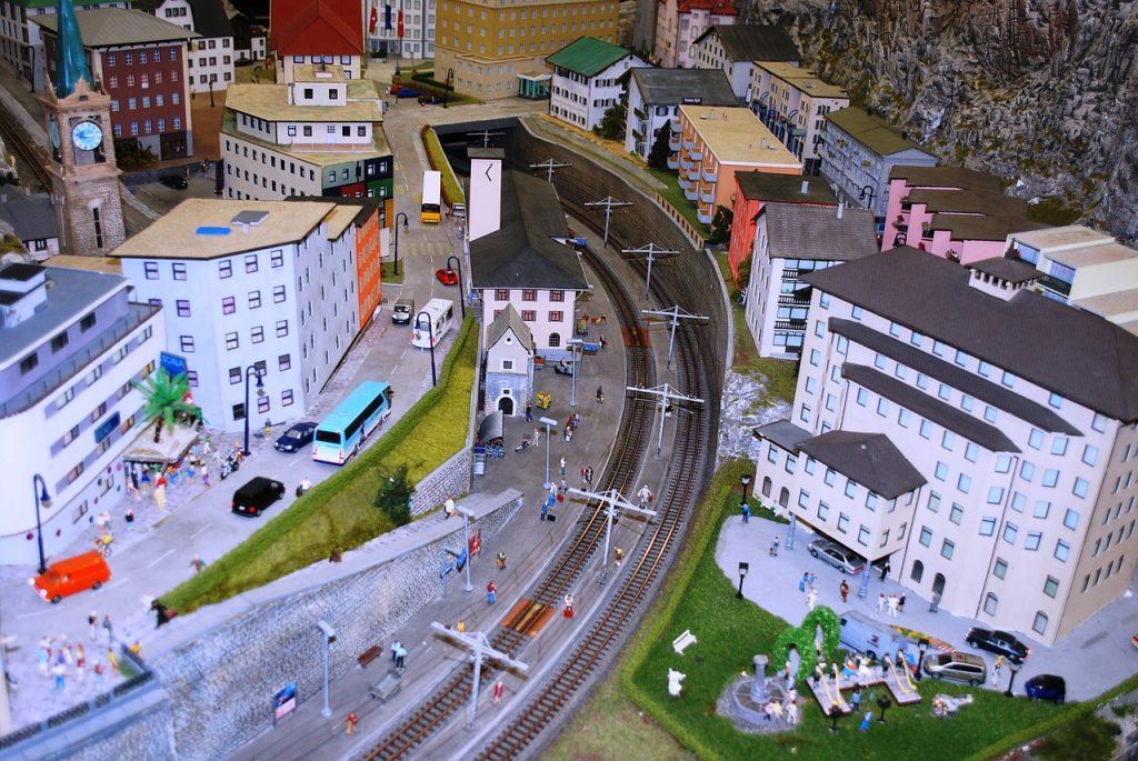 Miniature, Stadt