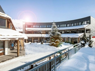 Anlage von Außen Skiurlaub in Söll - eine Woche günstig ab 78,19€ p.P = Tirol-Innsbruck