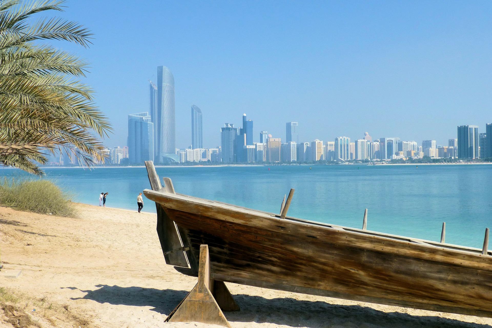 Badeurlaub in Dubai der Strand
