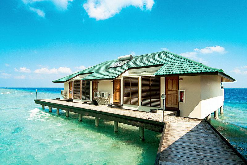 Beispiel Unterkunft Günstigster Malediven Urlaub 9 Tage All Inclusive günstig ab 1320,00€