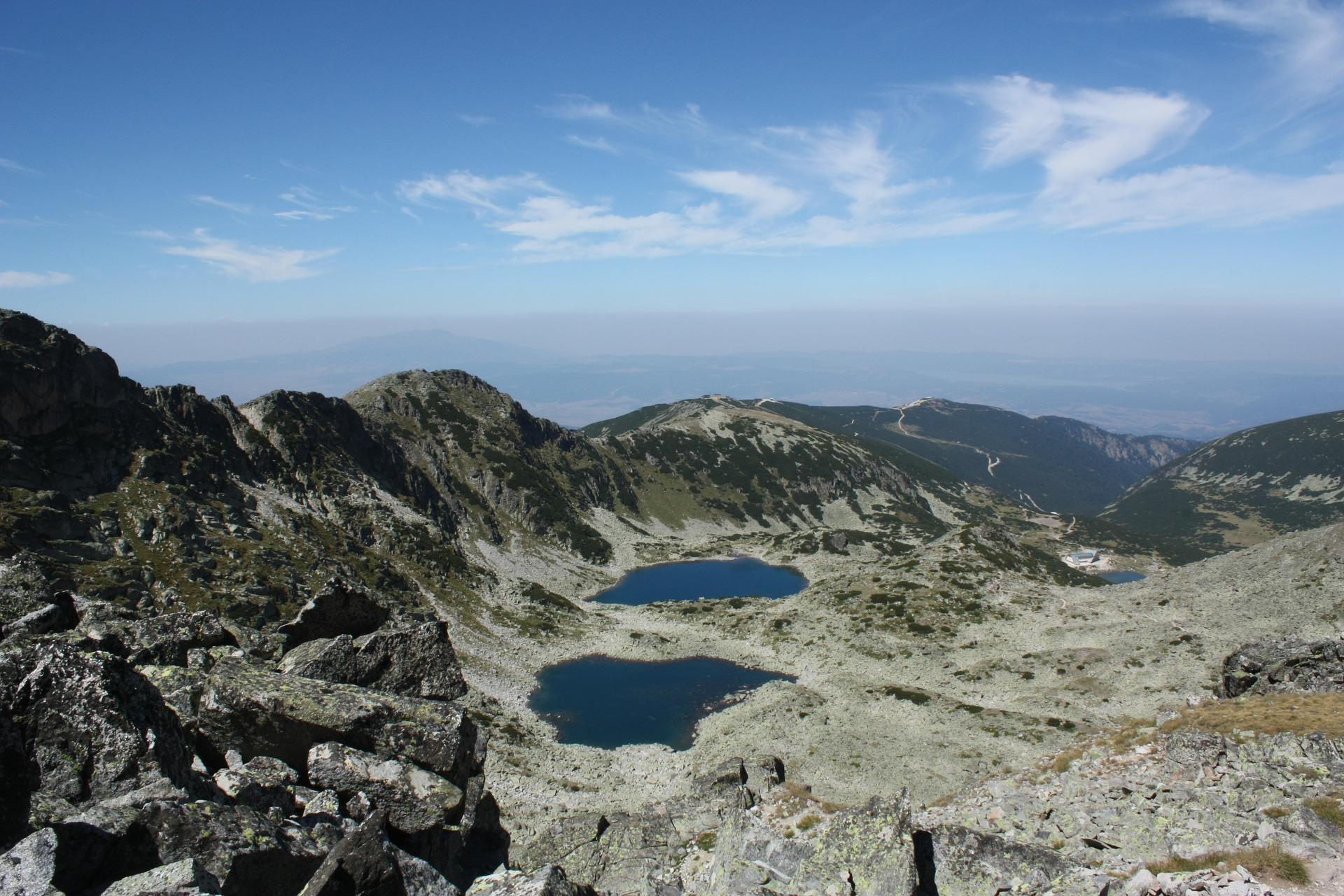 Borovets Geheimtipp für wanderer wenn die Skiurlaub Saison endet fängt die Saison für Wanderer an