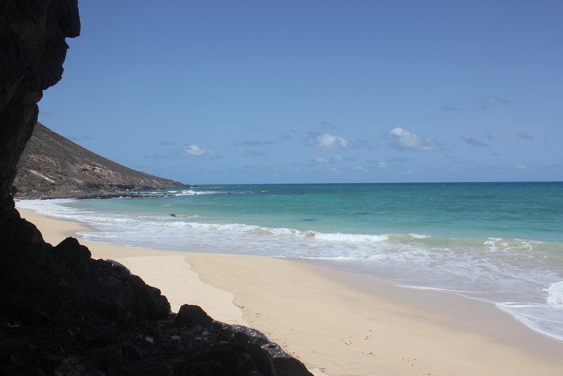 Der Strand direkt am Hotel Agua Hotels Sal vila Verde
