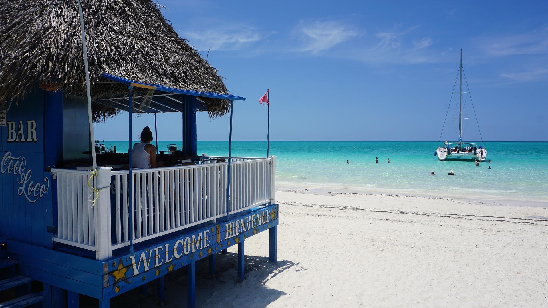 Der Strand von Cayo Coco