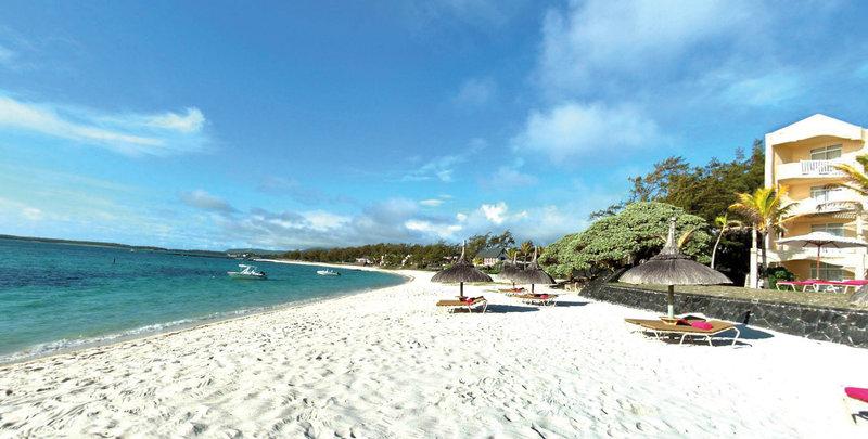 Der Strand während des Chillen auf Mauritius - All Inclusive Urlaub 9 Nächte ab 1050,00€