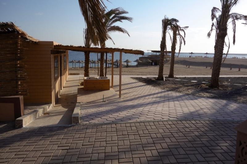 Direkte Strandlage am Roten Meer in Safga der Golfplatz ist auch unmittelbar in der nähe