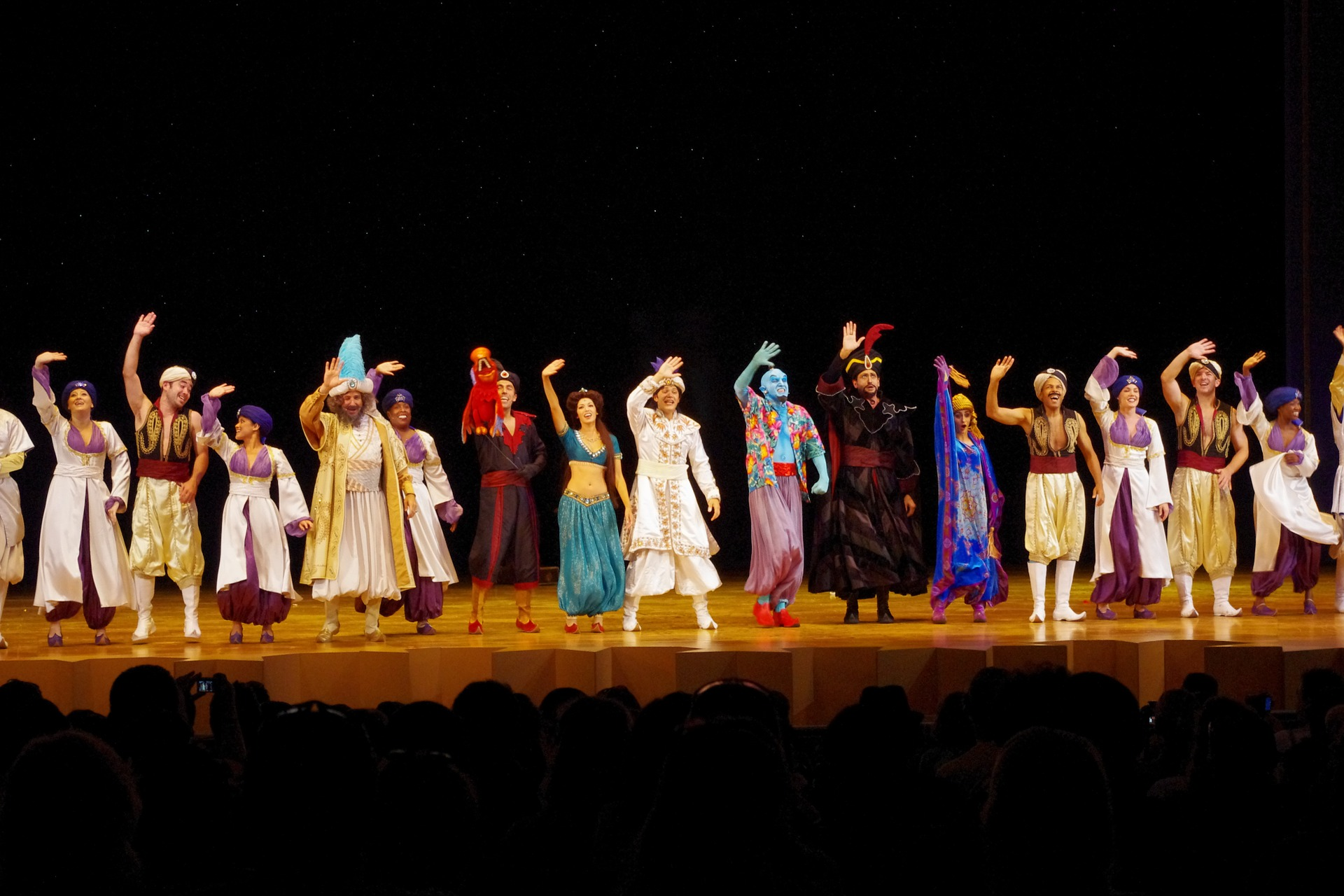 Disney Aladdin in London erleben