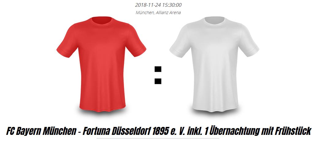 FC Bayern München vs Fortuna Düsseldorf 24.11.2018
