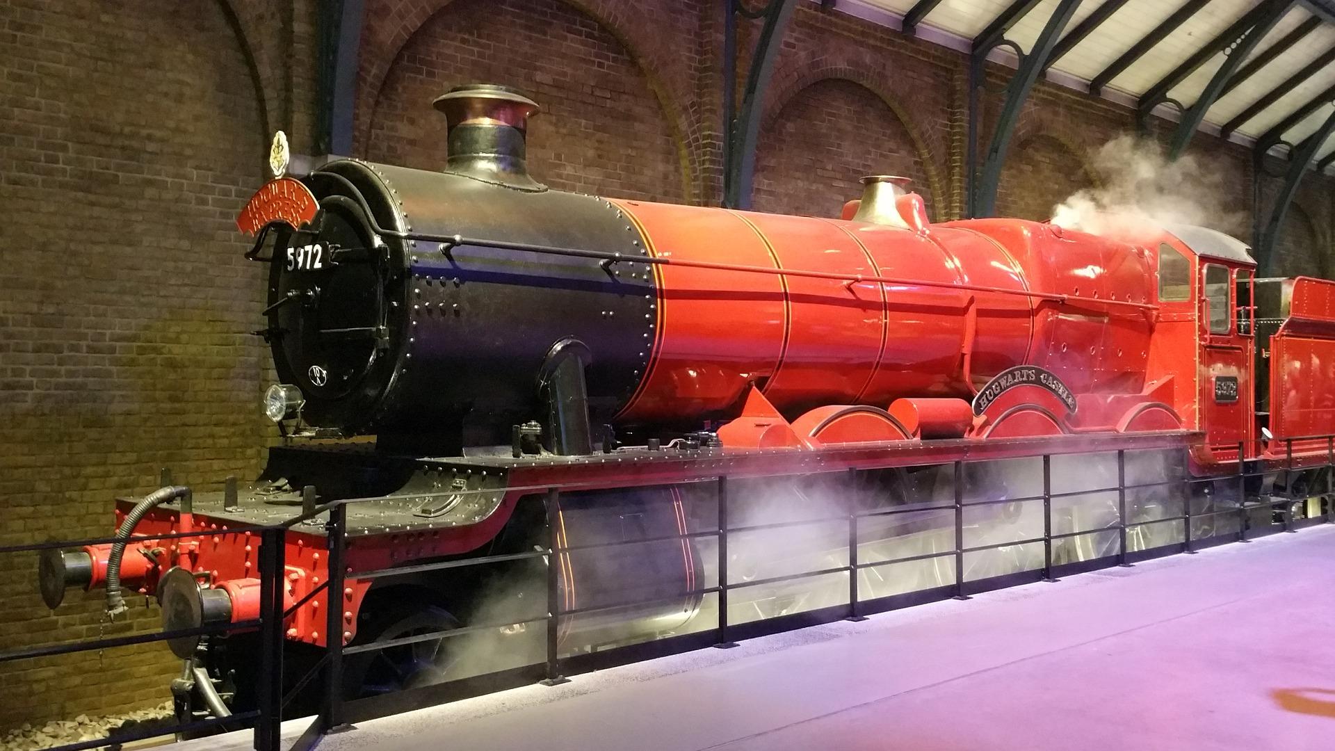 Gleis ³4 Lokomotive Reise The Making of Harry Potter Tour