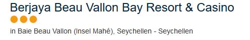 Hotel Seychellen