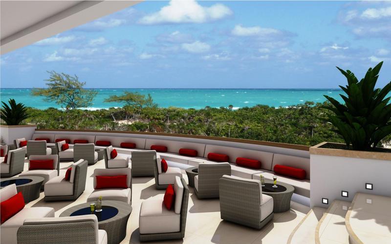 Hotel Terasse Chillen auf Kuba Eine Woche All Inclusive Cayo Coco günstig ab 936,00€