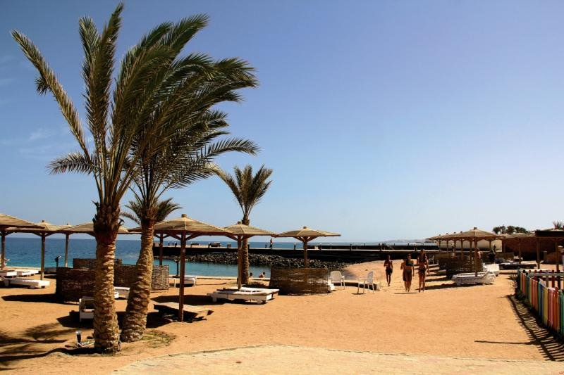 Hoteleigener Strand Chillen in Hurghada 16 Tage All Inclusive ab 235,00€ -Urlaub in Ägypten
