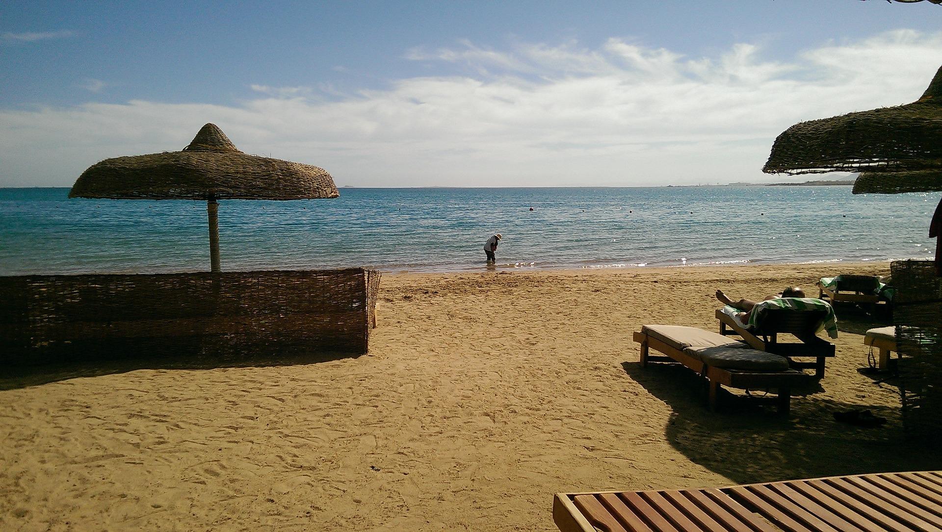 Hoteleigener Strand Urlaub im Grand Resort Hurghada eine Woche günstig ab 285,00€