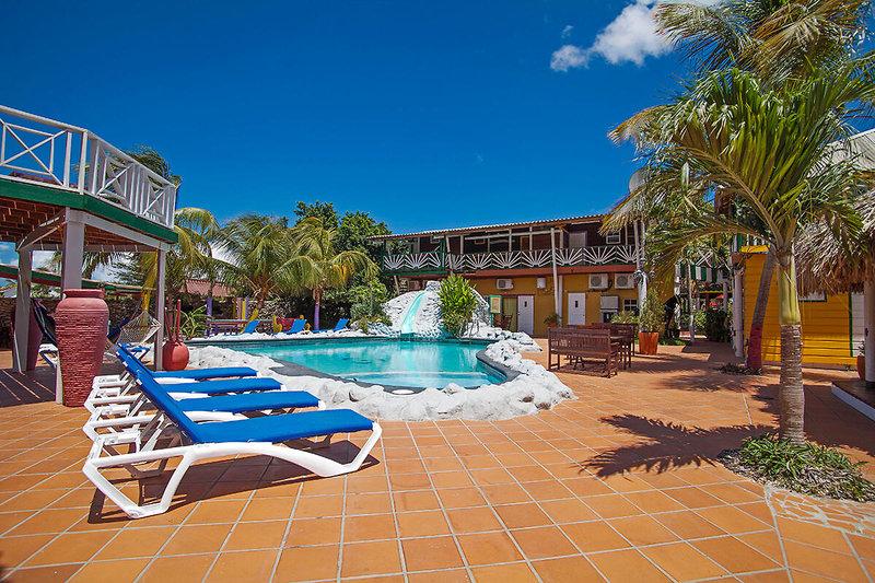 Hotelpool auf Curacao