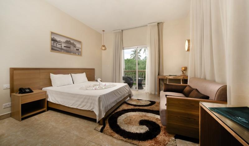 Hotelzimmer Beispiel Chilln auf Mauritius Halbpension 8 Nächte ab 900,00€ All Inclusive nur 192,00€ +