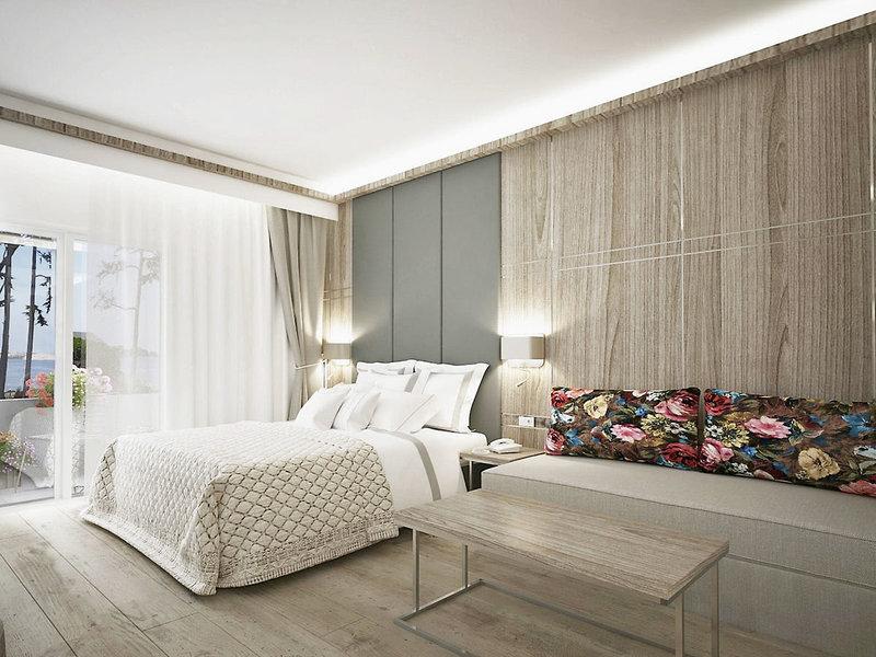 Hotelzimmer Beispiel Thassos Urlaub in Griechenland eine Woche günstig ab 406,51€
