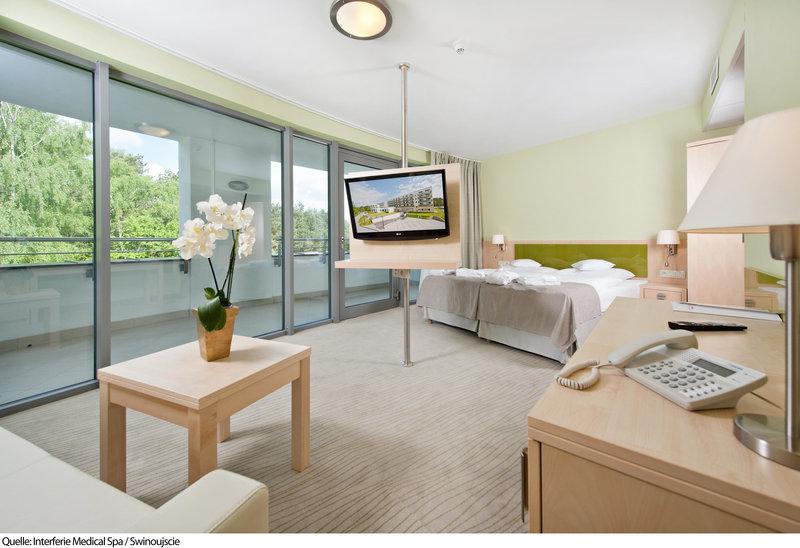 Hotelzimmer Wellnes Urlaub in Polen Swinemünde - 7 Tage 55 % günstiger Vollpension 169,00€