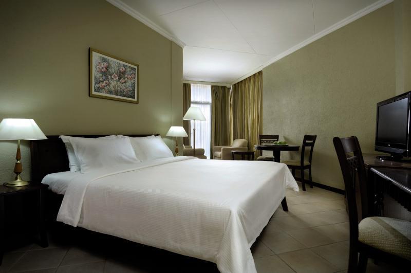 Hotelzimmer auf den Seychellen