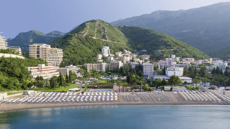 Landschaft & Strand in Becici am Iberostar Hotel