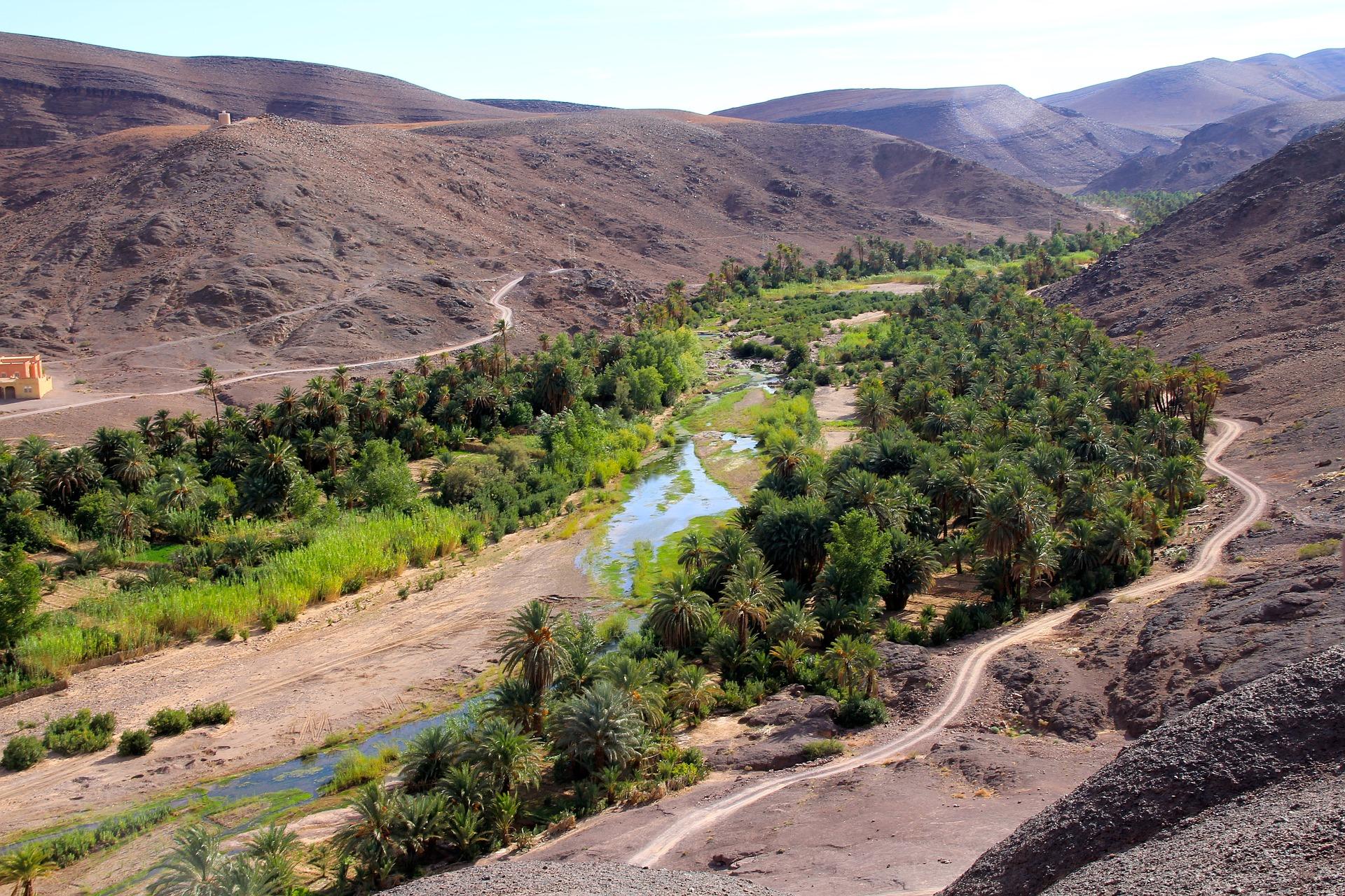 Landschaft in Marokko besichtigen während der Städtereise nach Marrakesch