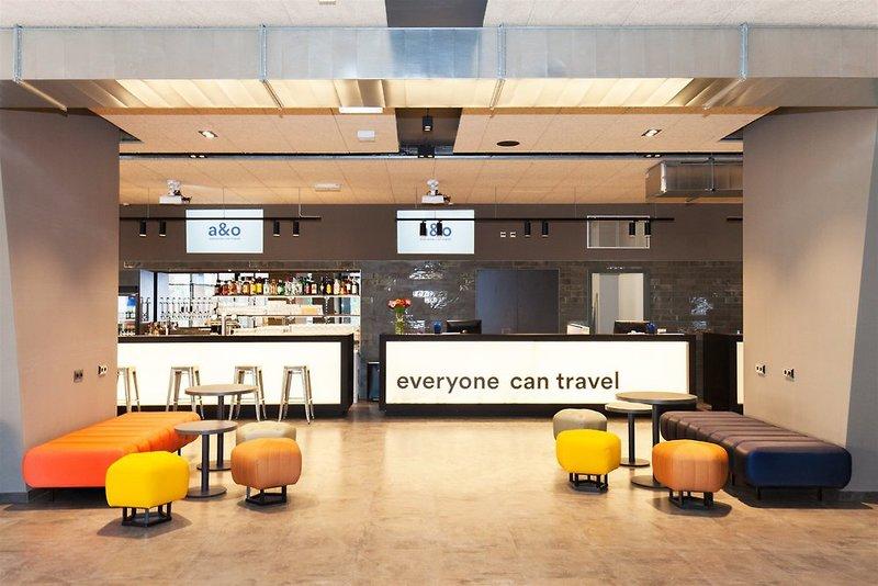 Lobby Beispiel Hotel in Prag die Nacht 63% günstiger ab 11,65€ inklusive Frühstück !