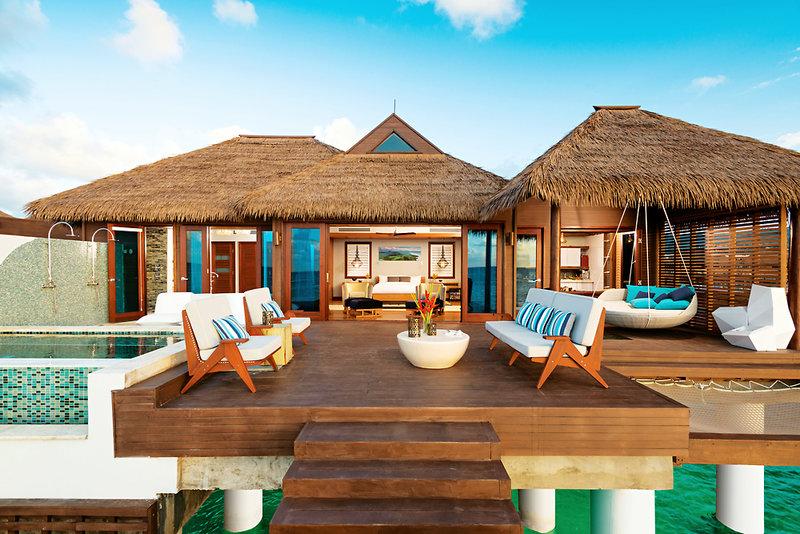 Zimmer Front Malediven Urlaub nicht auf den Malediven ! Jamaika Sandals Private Island ,