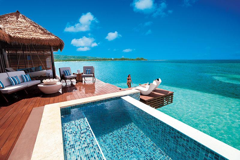 Pool Malediven Urlaub nicht auf den Malediven ! Jamaika Royal Sandals Private Island Montego Bay