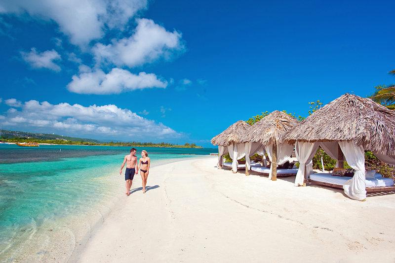 Malediven Urlaub nicht auf den Malediven ! Jamaika Sandals Private Island y