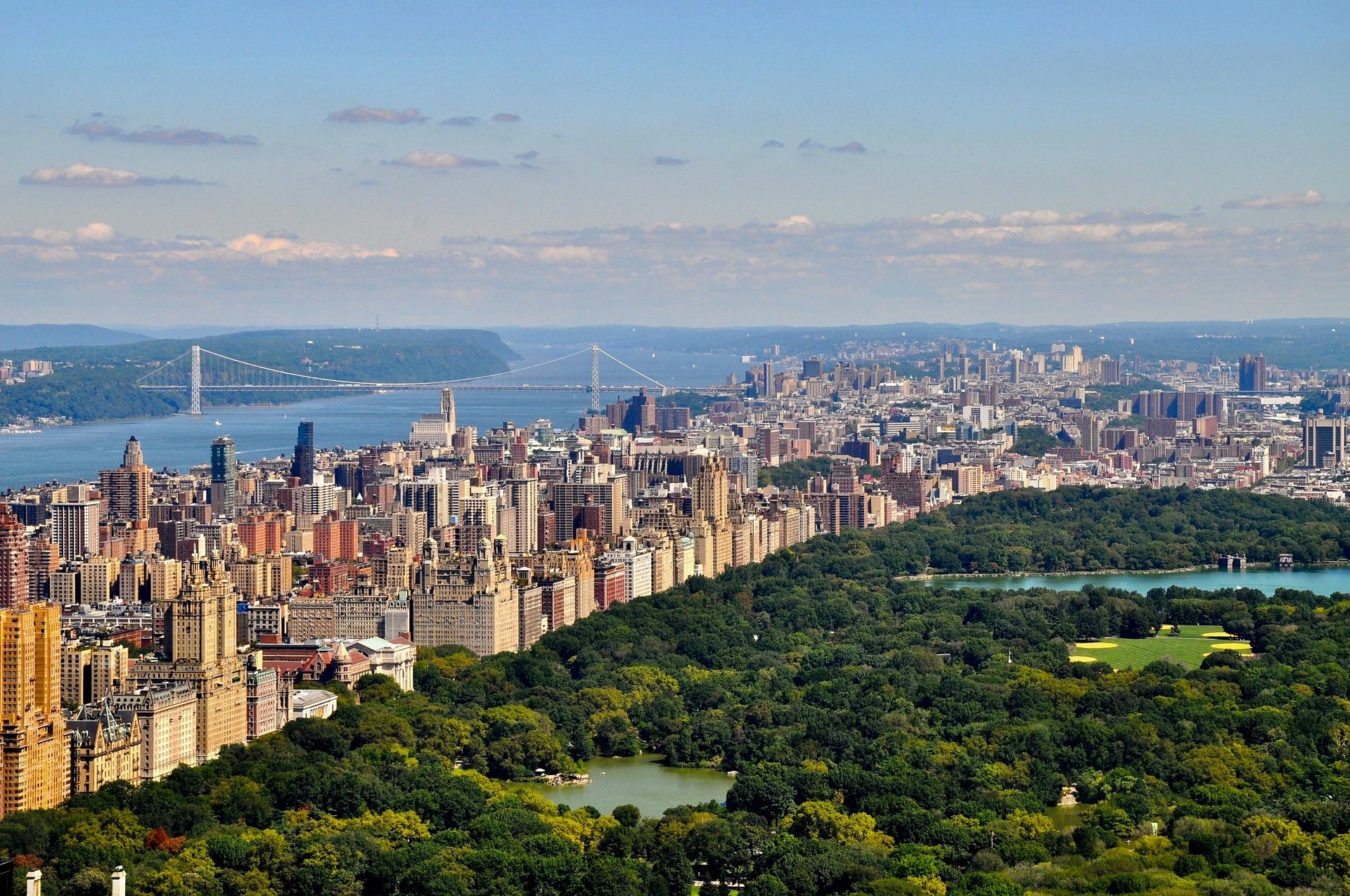 Manhattan umhüllt den berühmtesten Stadtpark
