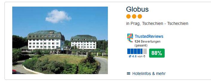 Hotel in Prag - 9,00€