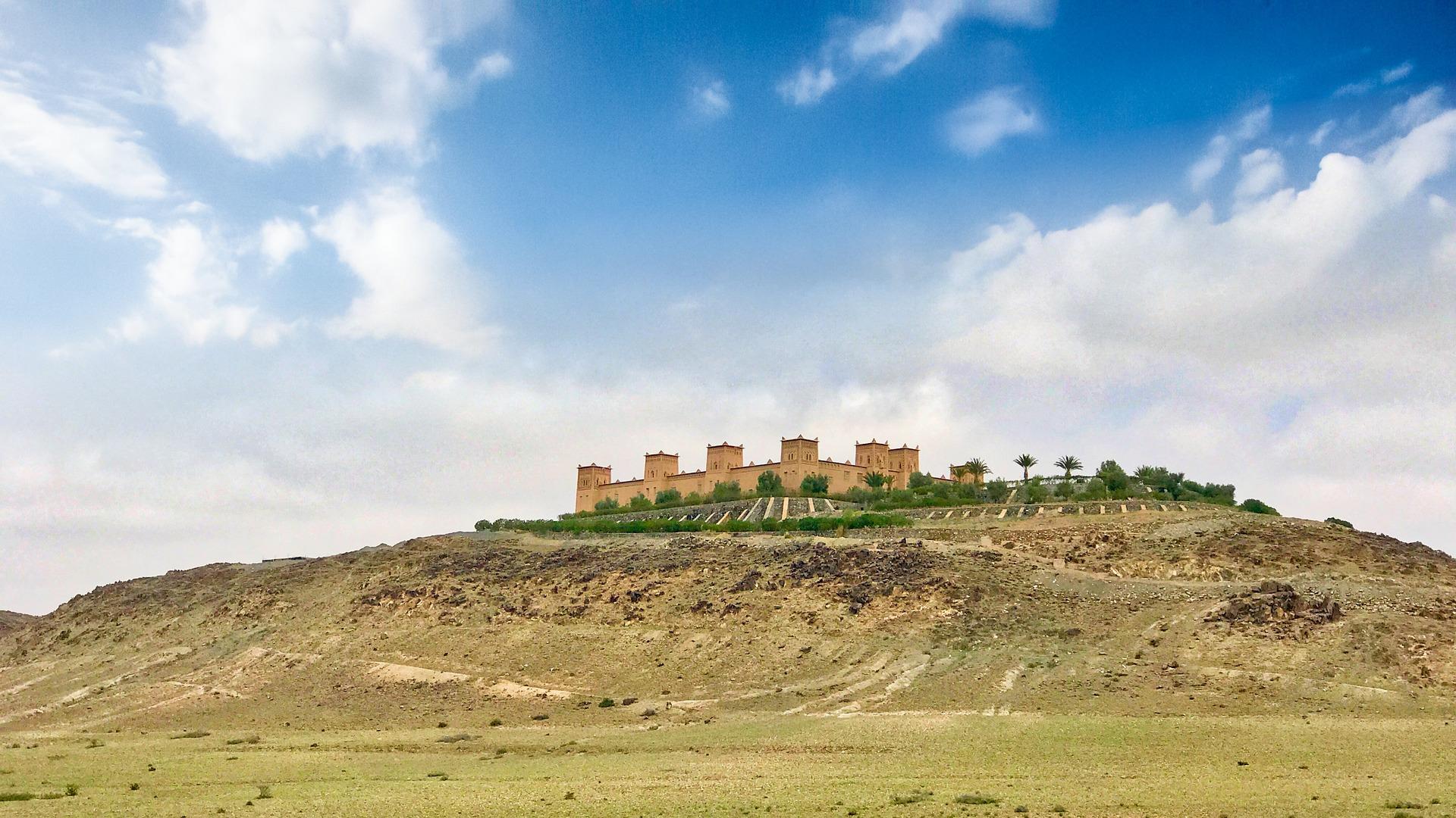 Palast im Marokko